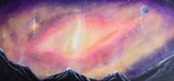 """Lila"" -cosmic play, spontaneous"