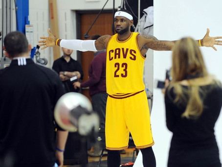 SPORTS TO TV: KING JAMES LOOKS TO DOMINATE A DIFFERENT INDUSTRY
