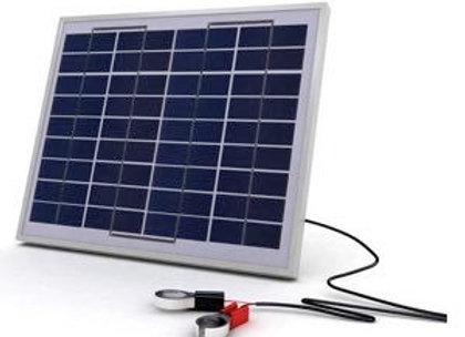 Solarland SLCK-010-12 10W 12V Portable Solar Charging Kit Spec Sheet