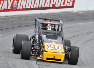 Nolen Racing's Coons Is Third in Points Following Carb Night Classic
