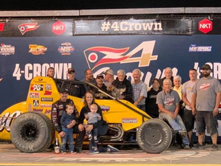 Nolen Racing's Swanson Wins Unprecedented Fifth USAC Silver Crown Drivers' Title
