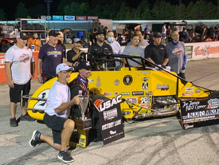 Nolen Racing's Swanson Wins Record Fifth Consecutive Joe James-Pat O'Connor Memorial at Sale