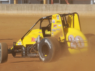 Coons Sees Fifth-Place Finish Disappear Late in Thursday's Hoosier Hundred