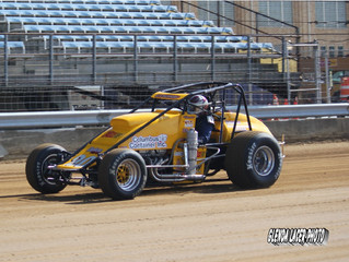 Coons Runs in Top Five But Finishes 14th In Hoosier Hundred Thursday Night
