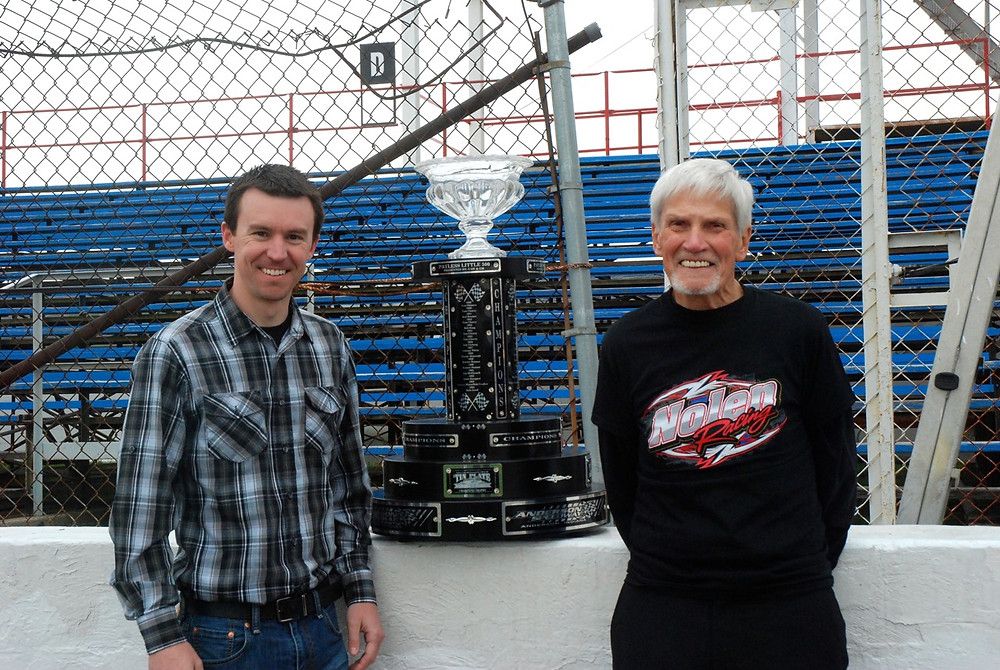 Kody Swanson (left) and Gene Nolen (right).
