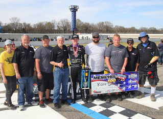 Nolen Racing's Swanson Wins USAC Silver Crown Season Opener at MIR