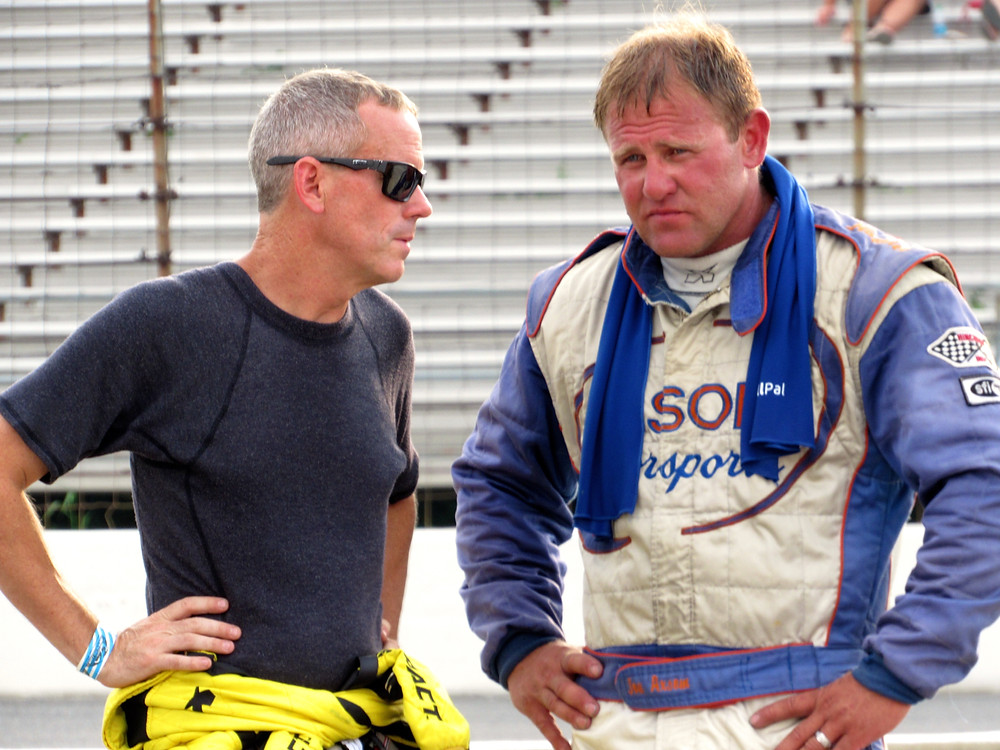 Jerry Coons Jr. (left) and Joe Axsom.