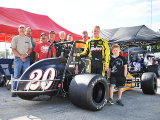 Nolen Racing's Coons Finishes Sixth, Axsom 12th at Salem Speedway