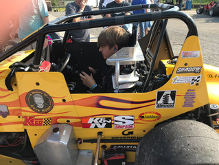 Nolen Racing Nurtures Rising Talent; Young Axsom Finishes Fourth in His Second Pavement Sprint Race