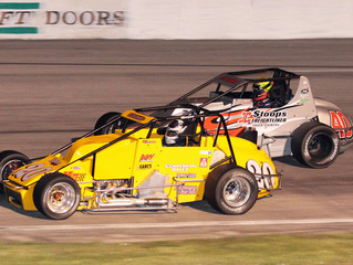 Coons Leads 39 Laps at Toledo