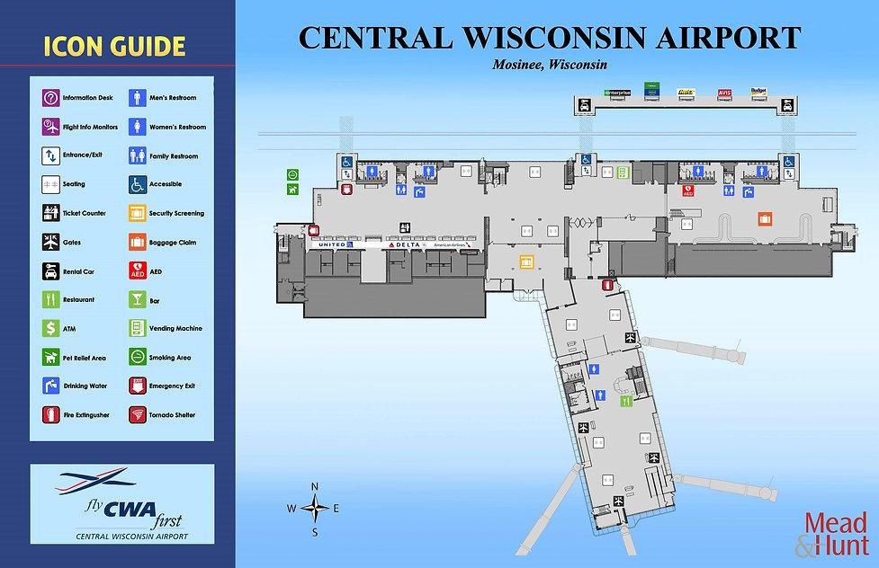 CWA Terminal Map