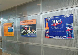 Terminal Static Wall Ads