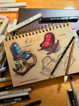 Funky Rocking Chairs