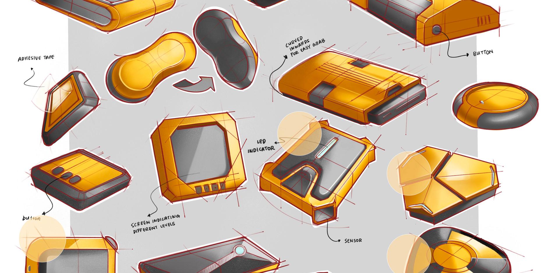 Sensor Sketches 01