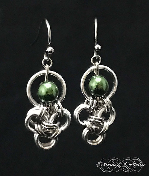 Boucles trio vert