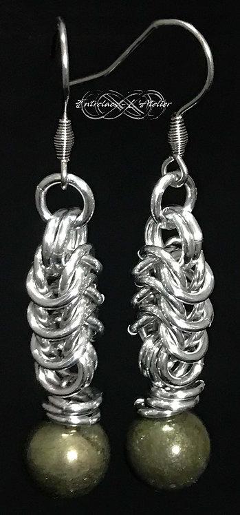 Boucles d'oreilles Pyros