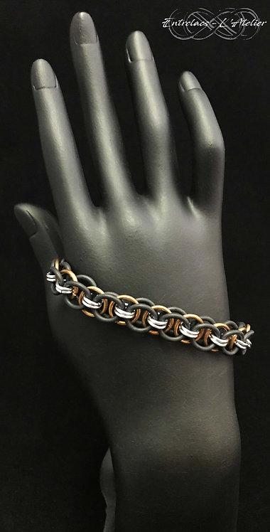 Bracelet rubber cuivre