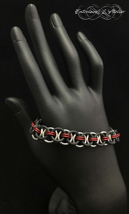 Bracelet Rubber Rouge