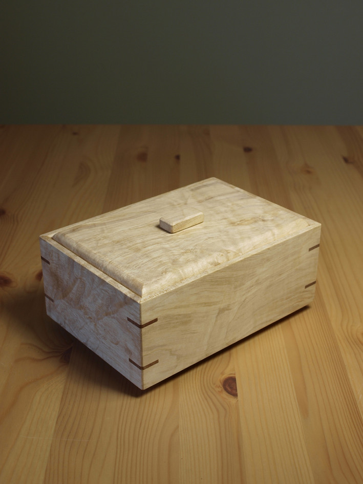 tea box caddy wood gift