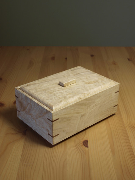 tea box caddy wood gift
