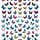Thumbnail: Butterfly nail decals