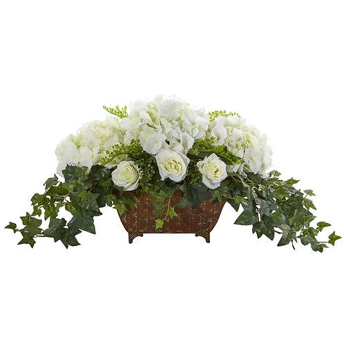 Blanc le Belle Reveries Silk Floral Arrangement