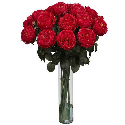 Roses de Magnifique Silk Floral Arrangement
