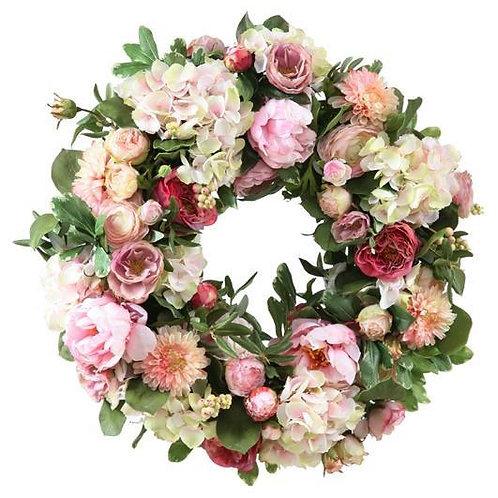 Shabby Fleurs Wreath