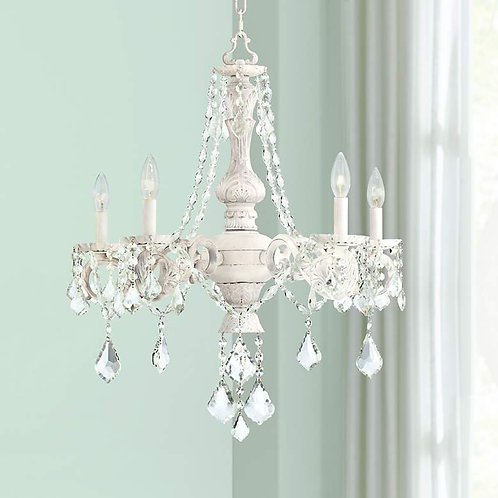 French Chateau Crystal Chandelier