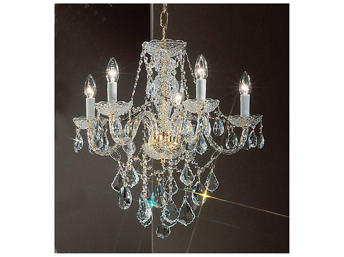 Manchester Manor Crystal Chandelier