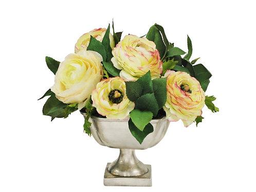Blanc de Fleur Silk Floral Arrangement