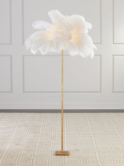 Plumes de Lumiere Floor Lamp