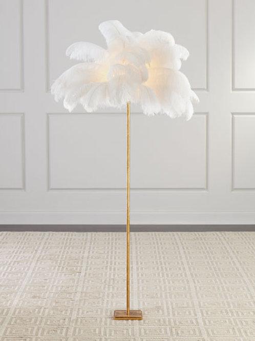 Plumes de Lumiere Floor Lamp