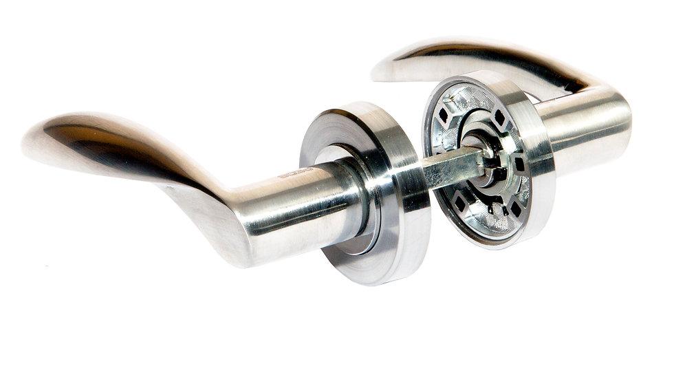 Дверные ручки раздельные 0420-A (Скандинавский стандарт)