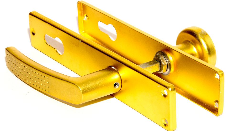 Дверная ручка на планке из алюминия 248