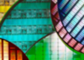 Silicon Wafers and Microcircuits - A waf