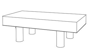 독립형 공압식 광학테이블