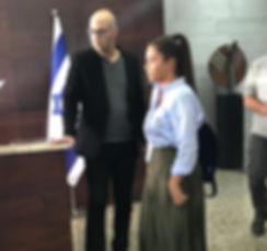 "Moshe Klughaft and Noa Kirel משה קלוגהפט נועה קירל בסדרה ""שלטון הצללים"""