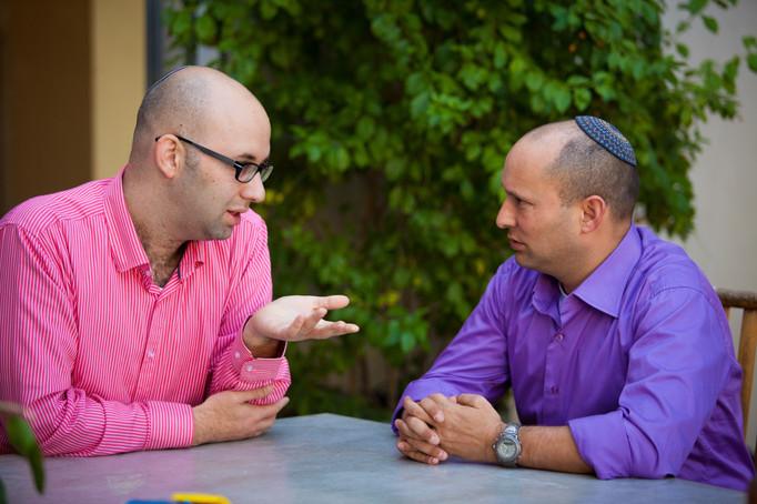 משה קלוגהפט נפתלי בנט Moshe Klughaft Naftali Bennett