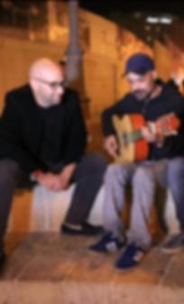 Moshe Klughaft and Amir Benayoun משה קלוגהפט עמיר בניון
