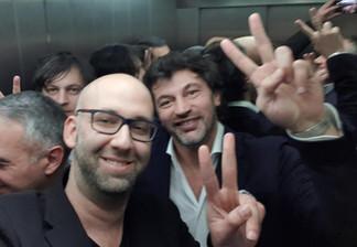 Moshe klughaft and Kakha Kaladze, mayor of Tbilisi