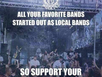 Support Your Local Music Scene              << EDIT>>