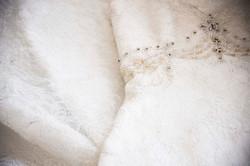 Dress laying Detail