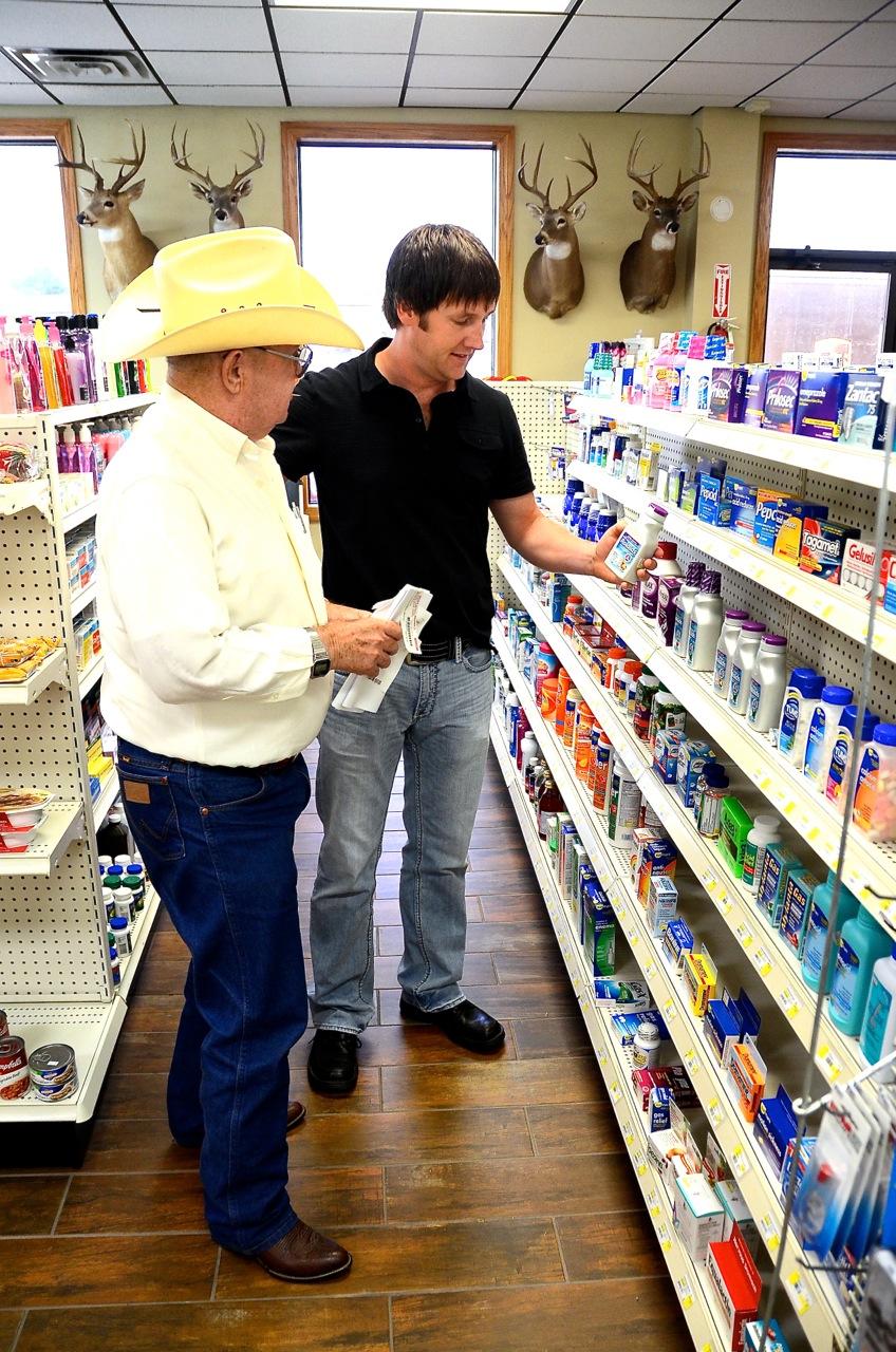 Ryan Ritter and Customer