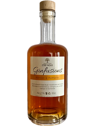 Ginfusions - Abricot & Romarin