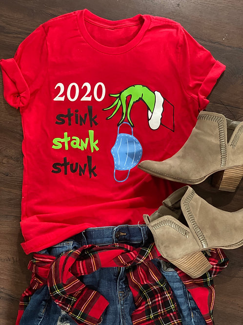 Ladies Stink Stank Stunk Tee