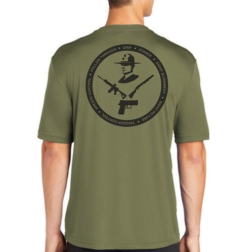 DSP Firearms short sleeve moisture wicking shirt
