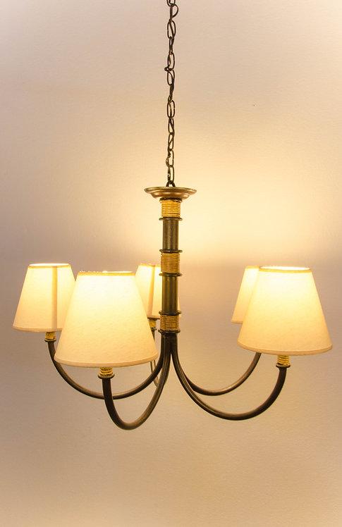 LAMPARA DE TECHO HIERRO ROMA