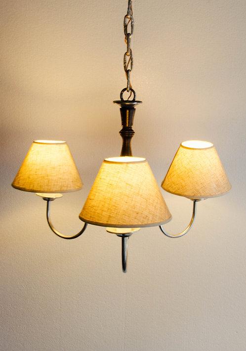 LAMPARA DE TECHO PELTRINA HOLANDESA