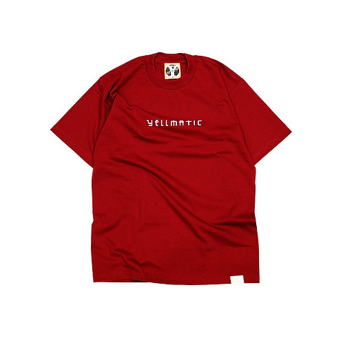 MAGIC LOGO S/S T-shirts [ BURGUNDY ]